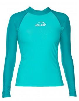 iQ UV 300 Shirt LS Watersport Turquoise Green