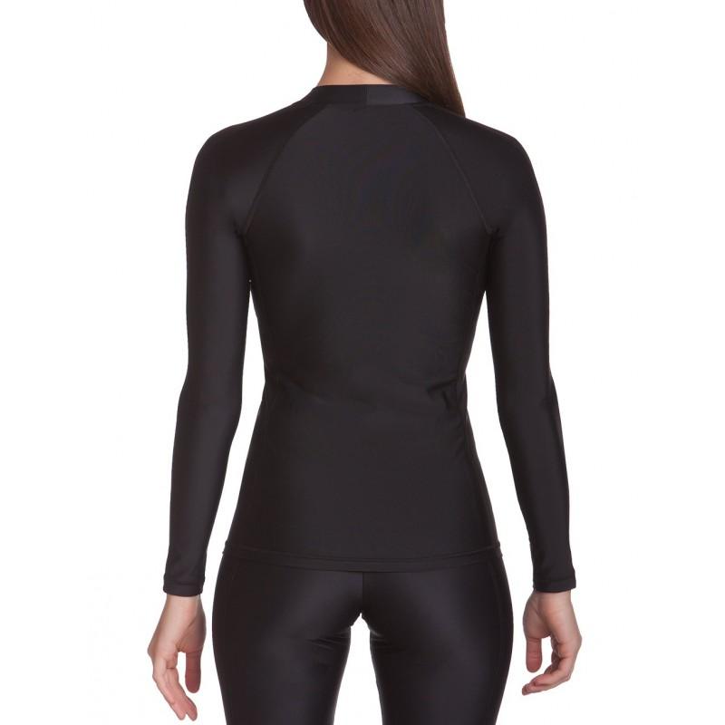 iQ UV 300 Shirt Watersport LS Ocean black