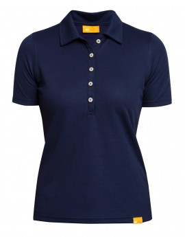 iQ UV Polo Shirt Women Dark Blue