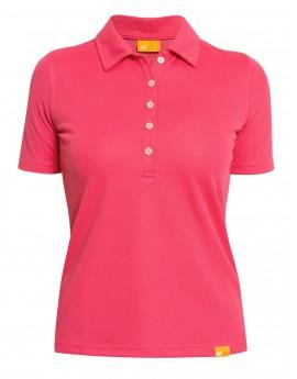 iQ UV Polo Shirt Women Coral