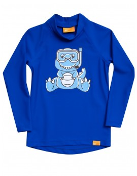 iQ UV 300 Shirt Dino Kids Dark Blue