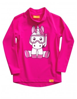 iQ UV 300 Shirt LS Unicorn Girls