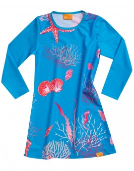 iQ UV 230 Tunic Corals Girls