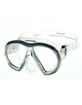 Atomic Subframe Medium Fit Clear Black Dive Mask