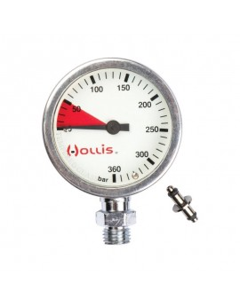 Hollis Pressure Gauge Module Metal Case