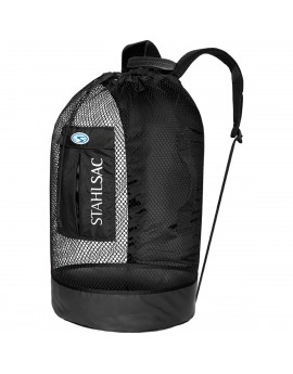 Stalhsac Panama Mesh Backpack Black