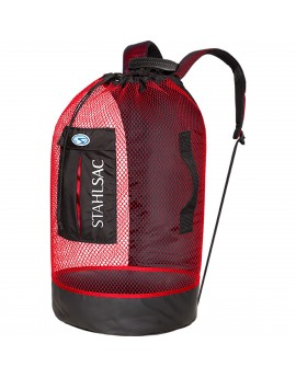 Stalhsac Panama Mesh Backpack Red