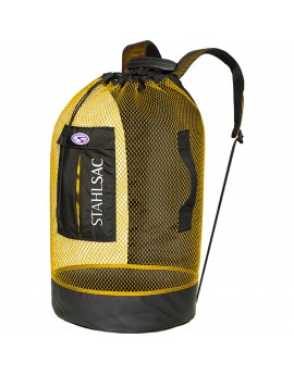 Stalhsac Panama Mesh Backpack Yellow