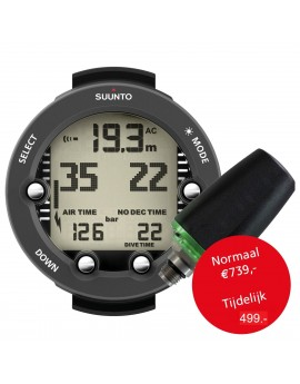Suunto Vyper Novo Graphite + Transmitter + USB Interface + Bungee Kit + Protection Boot