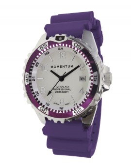 Momentum M1 Splash Eggplant Dive Watch