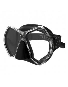 Oceanic Cyanea Black Titanium Duikmasker