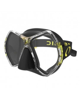 Oceanic Cyanea Black Yellow Dive Mask