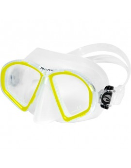 Bare Sport Duo Compact Yellow Dive Mask