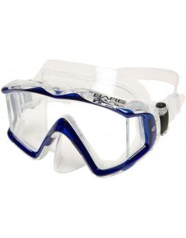 Bare Sport Trio C Blue Dive Mask