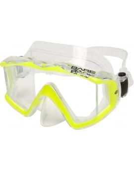 Bare Sport Trio C Yellow Dive Mask