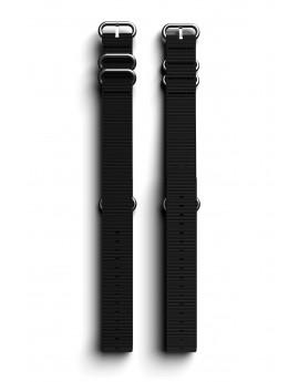 Cosmiq+ Monocolor NATO Black Wrist Strap