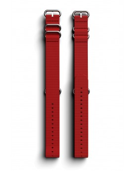 Cosmiq+ Monocolor NATO Polsband Red