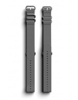 Cosmiq+ Monocolor NATO Polsband Steel Grey