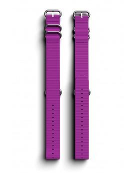 Cosmiq+ Monocolor NATO Polsband Lilac Purple