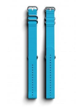 Cosmiq+ Monocolor NATO Polsband Ocean Blue