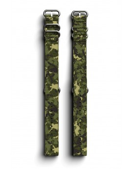 Cosmiq+ Camouflage NATO Wrist Strap Jungle Green