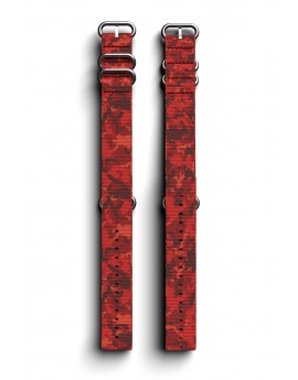 Cosmiq+ Camouflage NATO Polsband Autumn Red