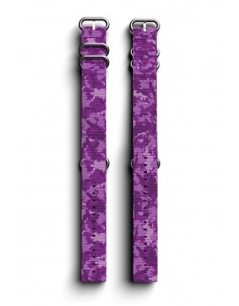 Cosmiq+ Camouflage NATO Polsband Galaxy Purple