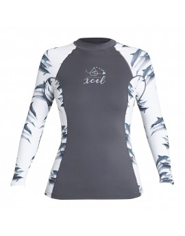 Xcel Womens Dolphin Inspired UV 6OZ L/S with Key Pocket