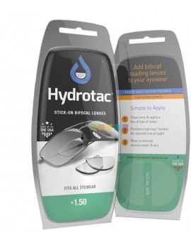 Hydrotac Bifocal Lenses + 1.50