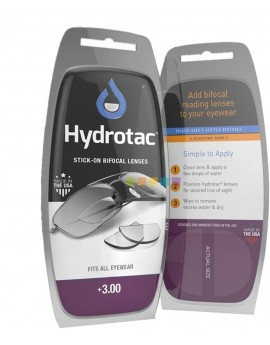 Hydrotac Bifocal Lenses + 3.00