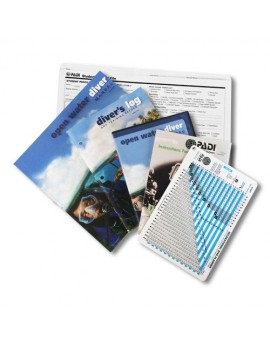 PADI Open Water Diver Kit with RDP Table Ultimate