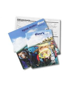 PADI Open Water Crewpak with Dive Computer Simulator Access Card
