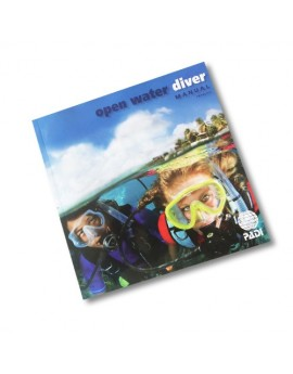 PADI Open Water Diver Manual with Dive Comp Simulator Access Card