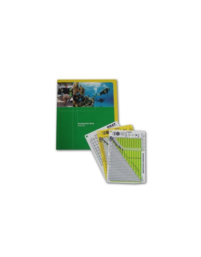 Padi Enriched Air Diver Table Use Manual
