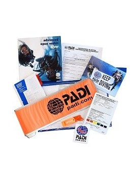 PADI Advanced Open Water Diver Crewpak + SMB & Whistle