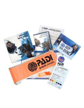 PADI Advanced Open Water Diver Ultimate Crewpak + SMB & Whistle