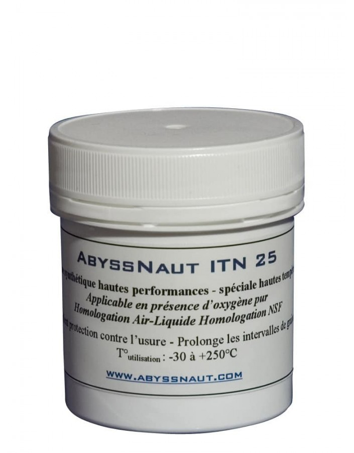 Abyssnaut 100% Oxygen Silicone Grease ITN-25 100gr