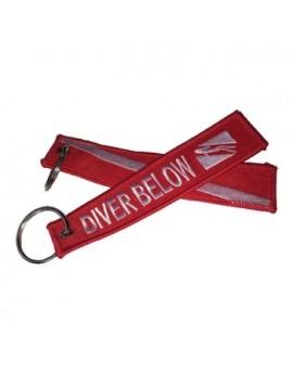 Keychain Diver Below
