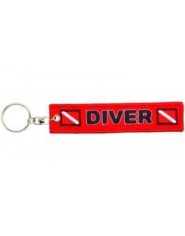 Keychain Diver Red