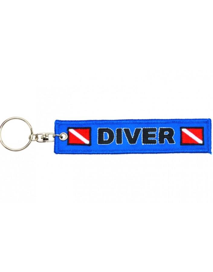 Keychain Diver Blue