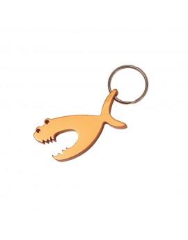 Key Chain Bottle Opener Fighting Fish