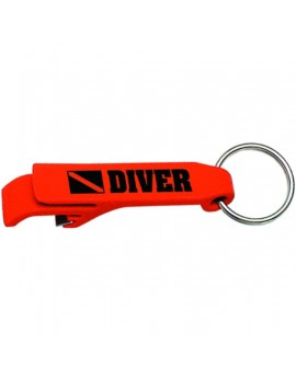 Keychain Diver Bottle Opener