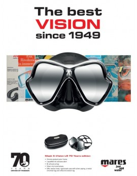 Mares X-Vision LS 70 Years Edition Mask