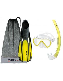 Mares Fluida Stream Snorkel Set