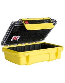 UK UltraBox 206 Pouch Padded Clear/Yellow