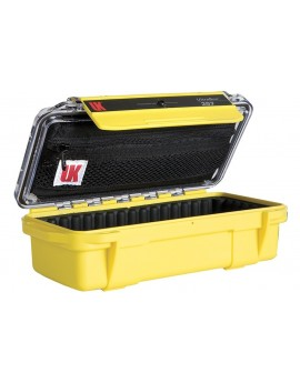 UK UltraBox 207 Pouch Padded Clear/Yellow