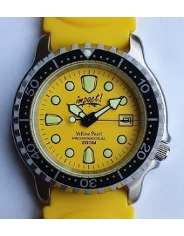 Impact Yellow Pearl Dive Watch
