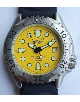Impact Infinty Yellow Dive Watch