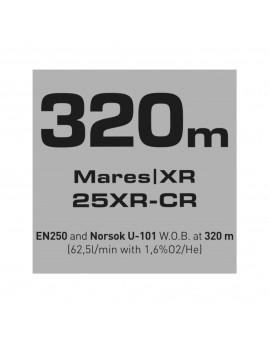 Mares 25XR CR Full Tek Regulator Set XR Line