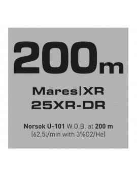Mares 25XR DR Full Tek Regulator Set